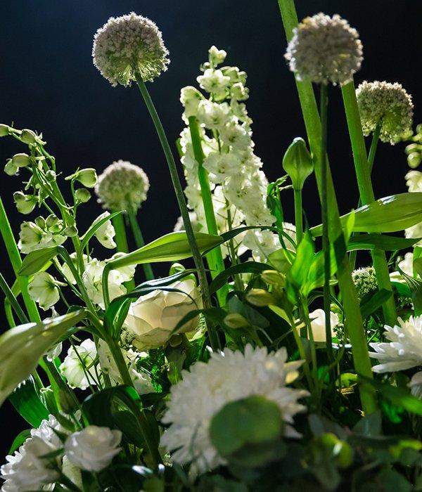 eventstyling - groen en bloem